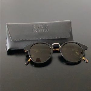 "Kyme ""Frank"" 46mm Round Sunglasses"